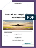 Research and Analysis of the Indian Aviation Industry.docx