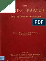 Lords Prayer in Fiv 00 Rost