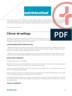Roteiro de Estudos Oncologia Gastrointestinal