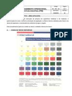 Procedimento Operacional - Pintura Industrial