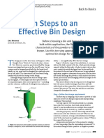 EFFECTIVE BIN DESIGN