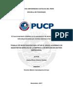 Chávez Chávez El Fraccionamiento Indebido en La Contratacion de Servicios Publicos