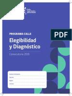 Cuadernillo de Elegibilidad y Diagnóstico