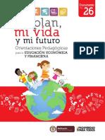 Orientaciones Pedagogicas Mi Plan, Mi Vida y Mi Futuro