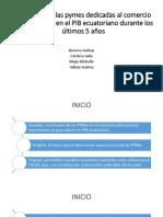 Influencia de las pymes dedicadas al comercio internacional.pptx
