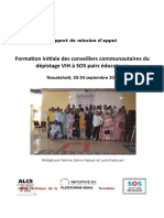 Rapport for Conseiller Communau