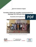 Rapport for Conseiller Communau