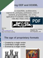 Open Document vs OOXML 2