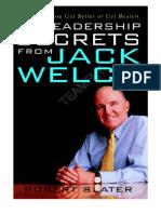 29 Leadership Skills by Jack Welch