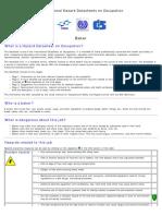 Hazard Datasheet