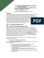 AMA 8 Step Case Analysis Process