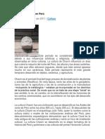 La Cultura Chavín en Perú.docx de Yosa
