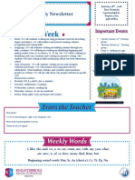 weekly newsletter january 28th