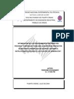 Optimizacion Procedimientos Internos Controlar y Evaluar Proyectos Edelca
