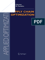 Applied Optimization Vol. 98 - Supply Chain Optimization (Springer, 2005)
