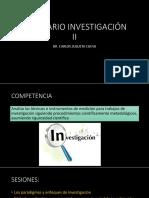 Enfoques de Investigacion