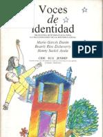 VOCES DE IDENTIDAD  Mario Garcés