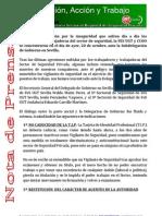 Nota de prensa seguridad privada 18-10-2010