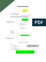 Parametrizaciones Nuevo