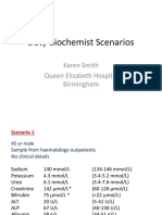 Karen Smith Duty Biochemist Scenarios