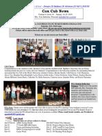 Cox News Volume 8 Issue 18