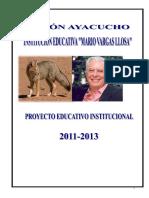 PEI Mario Vargas Llosa 2010