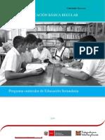 Curriculo Nacional Nivel Educacion Secundaria Ccesa007