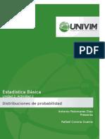 U2A2 Distribuciones de Probabilidad