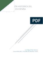 Formación historica del Derecho en España (unizar)