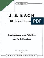 Bach Kontrabass Und Violine