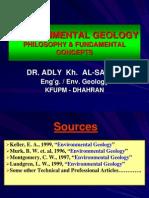 Environmental Geology (Phylosophy & Fundamental Concepts)