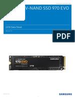 Samsung NVMe SSD 970 EVO Data Sheet Rev.1.0