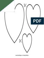 Grafomotricidad corazones