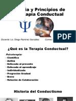 Historia y Principios de La Terapia Conductual - Copia