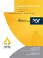 Diário Oficial da CLDF - 28 de Janeiro de 2019