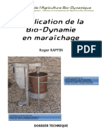 Application de La Bio Dynamie en Maraichage