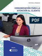 Comunicación Para La Atención Al Cliente
