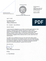 Response Regarding Complaint Against Kansas Attorney Sean Allen McElwain - April 17th, 2018