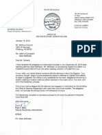 Response Regarding Complaint Against Kansas Attorney Sean Allen McElwain - January 10th, 2019