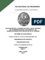 Aplicación de La Norma Iec 60071