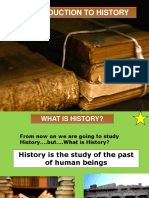 Introduction to History 1ºeso