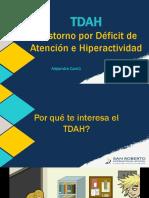 TDAH. Alejandra Cantú