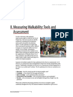 Pedestrian Accessibility and Attractiveness Indicators for Walkablity Assessment