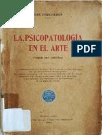 Ingenieros - La Psicopatología en El Arte