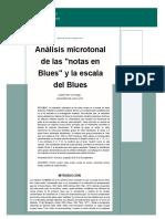 Análisis Microtonal de Escalas y Acordes en Blues