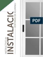 Instructivo_ventanas y Puertaas