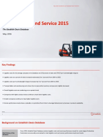 Logistics Cost and Service 2015