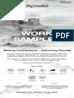 Be Creative Work Samples
