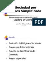 SOCIEDADES ANÓNIMAS SIMPLIFICADAS