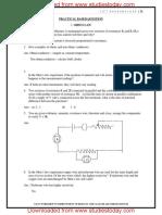 CBSE Class 12 Physics Practical Questions
